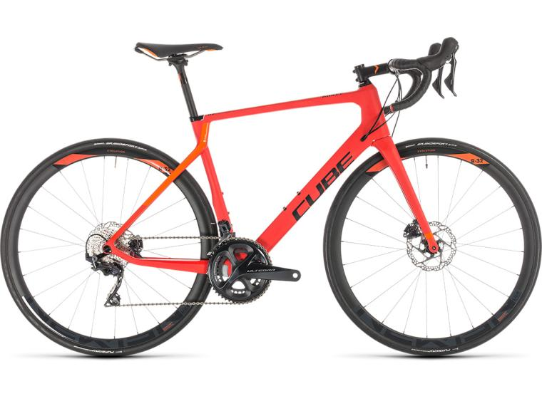 Cube Agree C:62 Race Disc Rood
