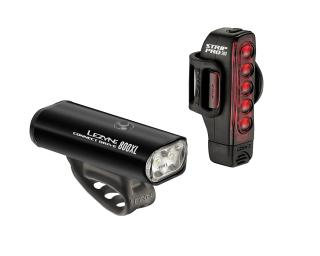 Lezyne Lite Drive 800XL & Strip Drive Pro Pair Light Set