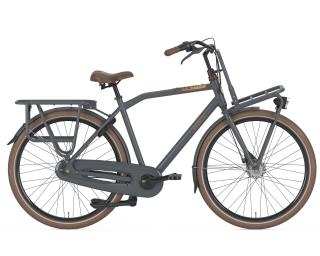 Gazelle Heavy Duty 3V Transportfiets Heren / Grijs