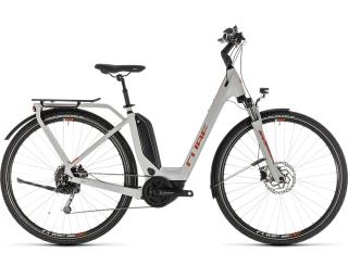 Cube Touring Hybrid 400 Lage instap / Wit