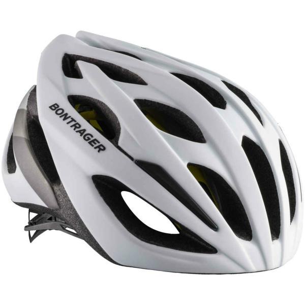 Bontrager Starvos MIPS - Hvid/Sølv | Helmets