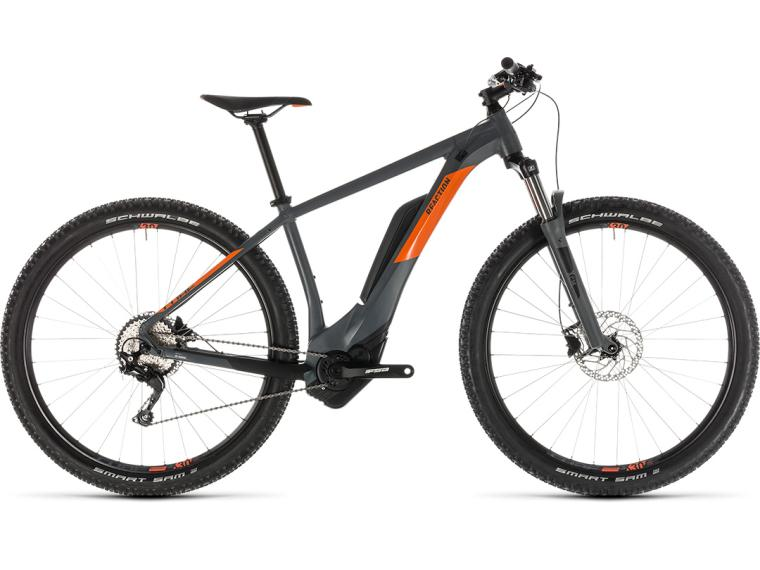 Cube Reaction Hybrid Pro 500 Elektrische mountainbike Grijs