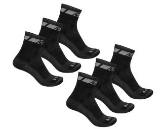GripGrab Merino Regular Cut 3-Pack Socks 6 pieces