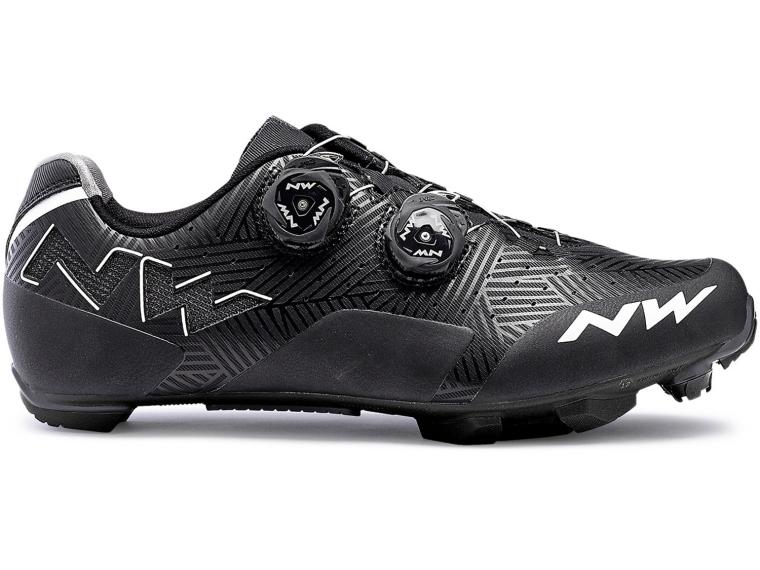 Northwave Rebel MTB Schoenen Black / White