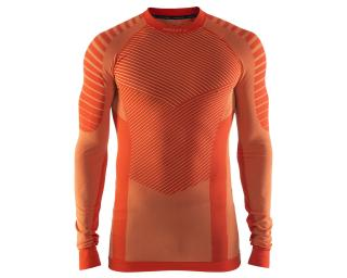 Craft Active Intensity CN LS Long Sleeve Base Layer Orange