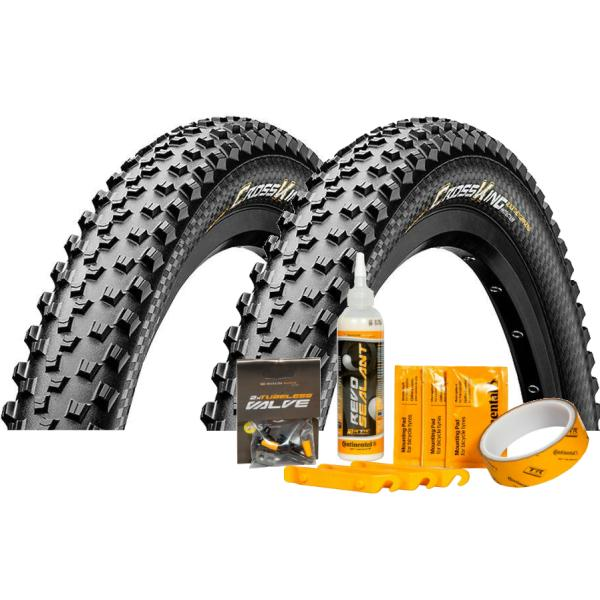 Continental Cross King ProTection + Tubeless Kit Dæk | Tyres