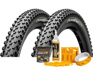 Pneu Continental Cross King ProTection + Tubeless Kit
