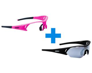BBB Cycling Summit Cycling Glasses Pink & Black
