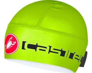Castelli Viva Thermo Skully Yellow