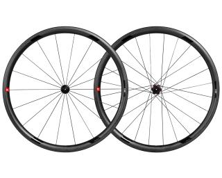 3T Orbis II C35 Ltd Stealth Ceramic Speed Road Bike Wheels Set