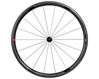 3T Orbis II C35 Ltd Stealth Ceramic Speed Road Bike Wheels Front Wheel