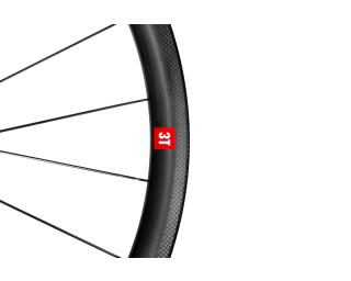 3T Orbis II C35 Ltd Stealth Ceramic Speed Road Bike Wheels