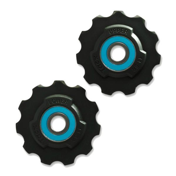 Tacx T4040 Ceramic Teflon Sram 11 speed Pulleyhjul | Pulleyhjul