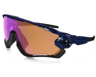 Oakley Jawbreaker Prizm Trail Cycling Glasses Blue