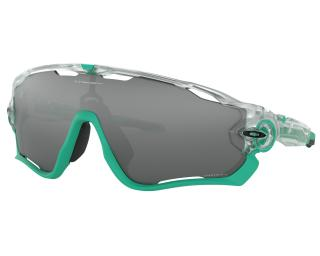 Oakley Jawbreaker Prizm Black Cycling Glasses Green