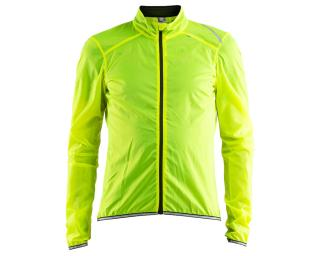 Craft Lithe Jacket M Windbreaker Yellow