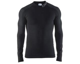 Craft Warm Intensity CN LS Long Sleeve Base Layer Black / Grey