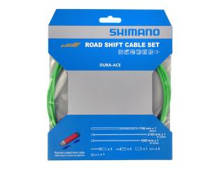 Shimano Dura Ace Shift Cableset Green