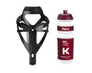 Tacx Bidon & Bottle Cage Red / 750 ml