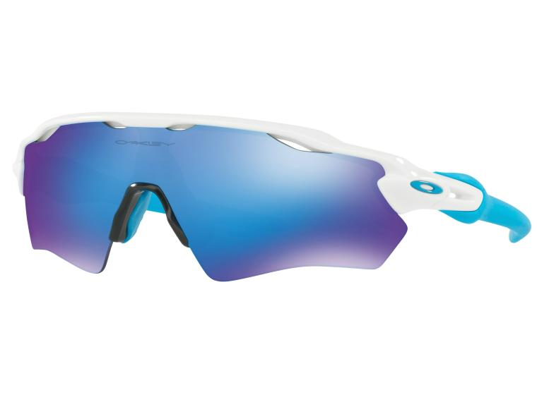 Oakley Radar EV XS Path Sapphire Iridium Cycling Glasses
