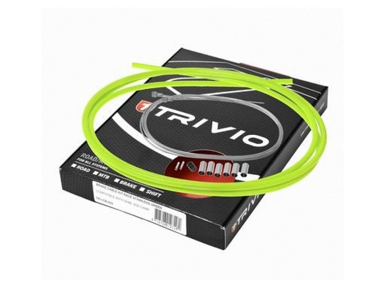 Trivio Race Brake Cable set Green