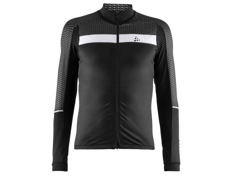 Maillot Craft Route LS Noir