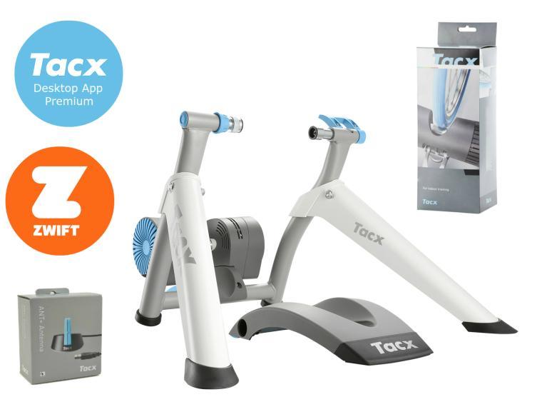 Tacx Vortex Smart T2180 Premium Bundle Turbo Trainer