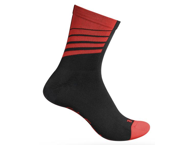 GripGrab Racing Stripes Socks 1 pair / Red