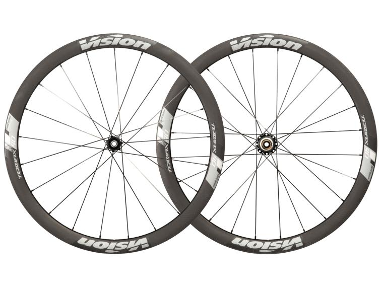 Vision Trimax Carbon 40 CSI Disc Road Bike Wheels
