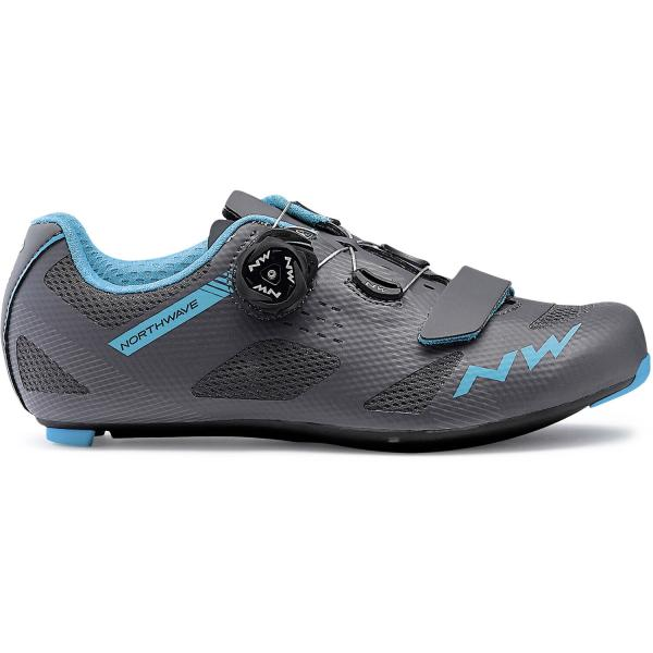 Northwave Storm Woman Cykelsko Landevej | Shoes and overlays