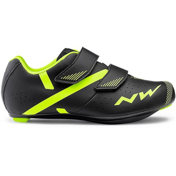 Northwave Torpedo 2 Junior Cykelsko Landevej | Shoes and overlays