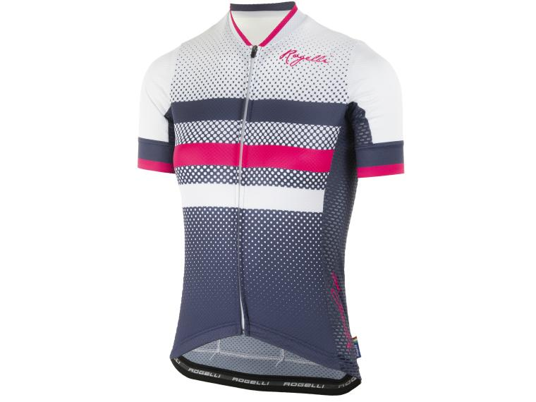 Rogelli Dot- Cycling Jersey Blue