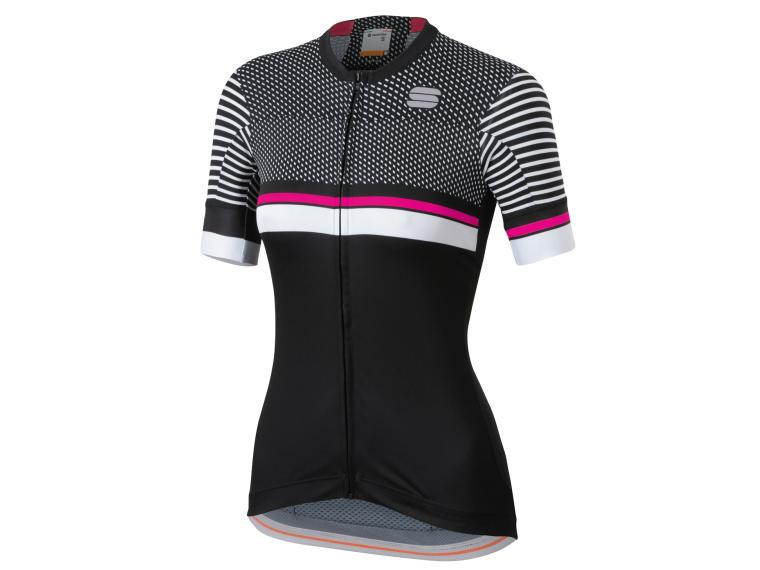 Sportful Diva 2 Cycling Jersey Black