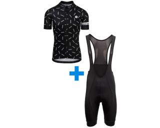 AGU Essential Bib Short Black