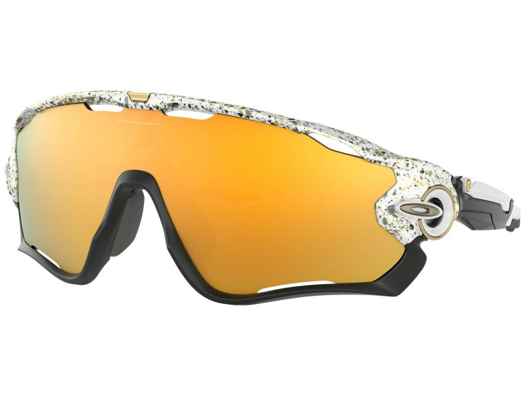 Oakley Jawbreaker 24K Iridium Cycling Glasses