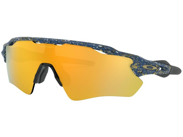 Oakley Radar EV 24k Iridium Cycling Glasses
