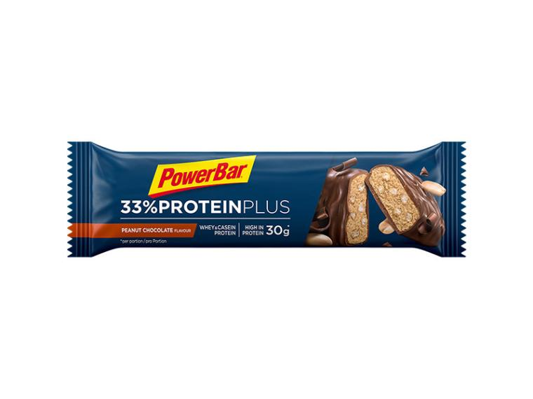 PowerBar 33% ProteinPlus Bar Chocolate Peanut