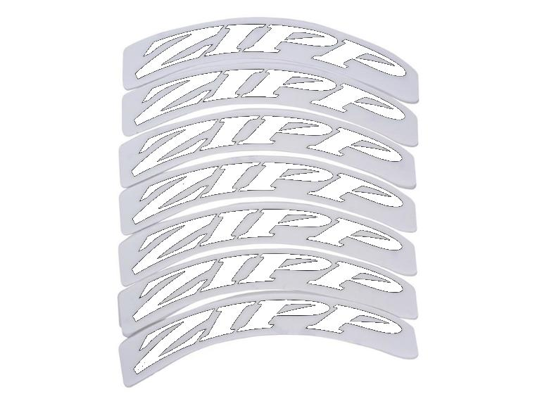 Zipp Decals 404 White