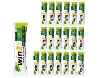 WIN2 Energy Bar - Box 20 pieces Mandel