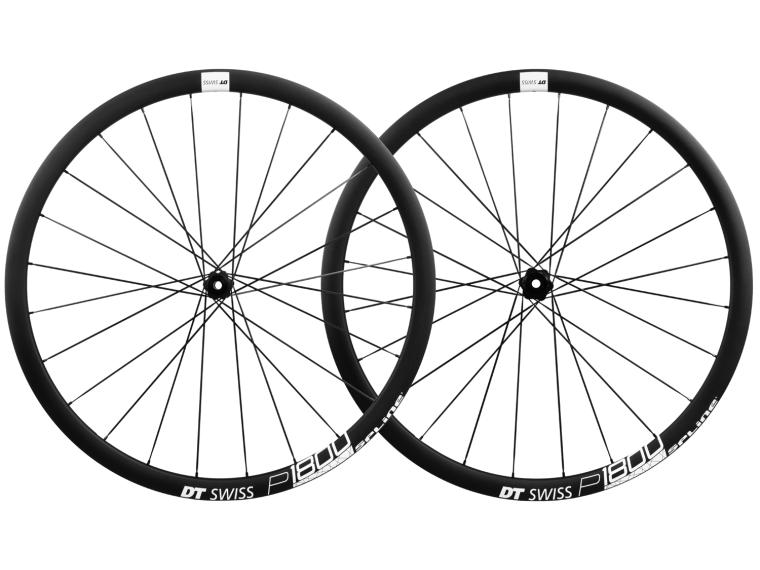 DT Swiss P 1800 Spline 32 Disc Road Bike Wheels Set