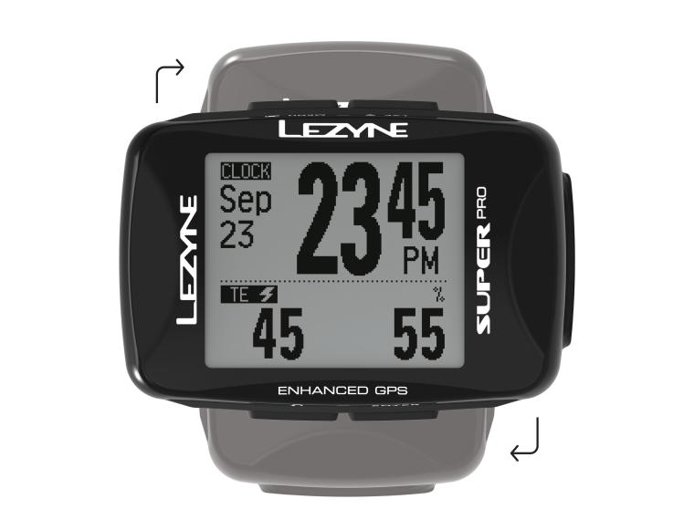 Lezyne Super Pro GPS Cycle Computer