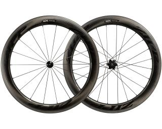 Zipp 404 Firecrest Carbon Clincher Road Bike Wheels Set / Black