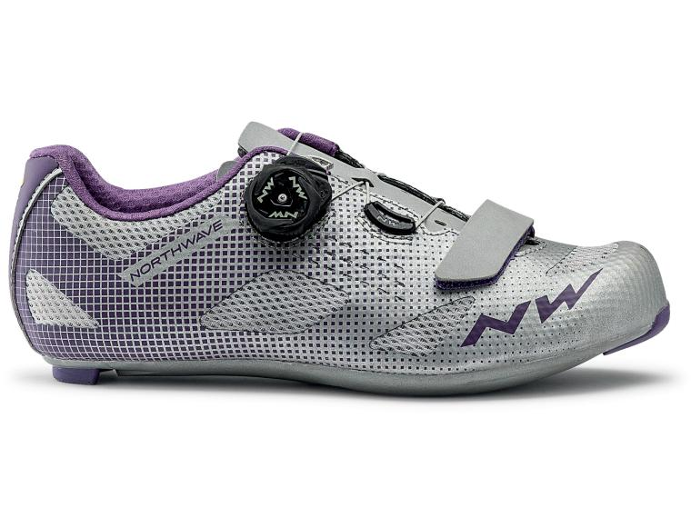 Northwave Storm Woman Road Shoes Silver