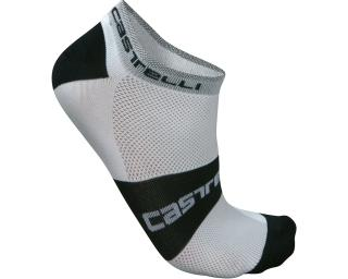 Castelli Lowboy Cycling Socks White
