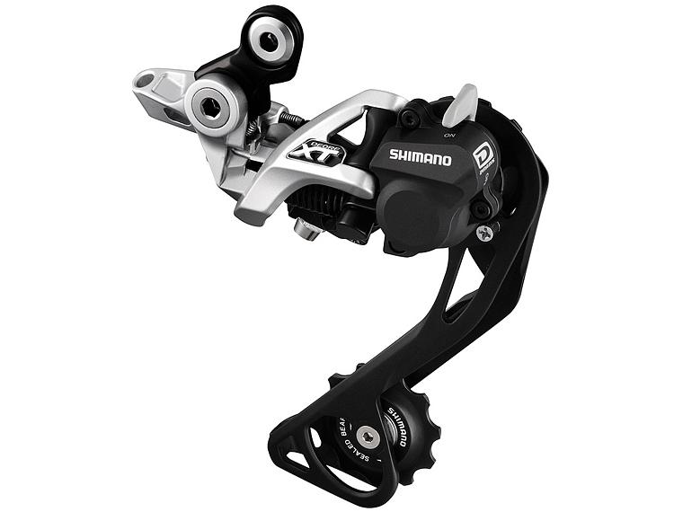 Shimano Deore XT M786 Shadow Plus 10-speed Rear Derailleur Silver
