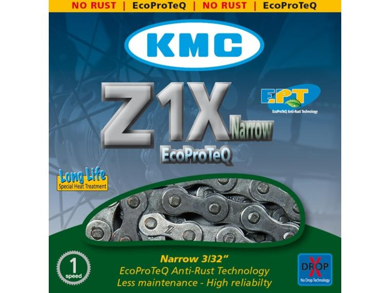 KMC Z1X Narrow Ecoproteq Chain