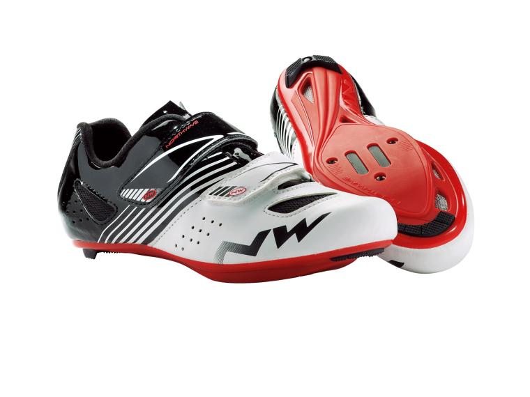 Northwave Torpedo Junior Road Shoes White / Black