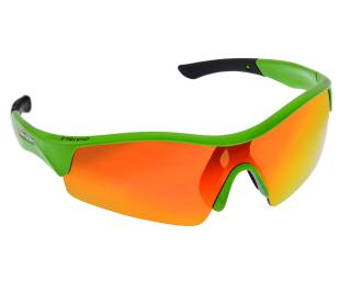 Trivio Vento Cycling Glasses Orange / Green