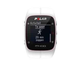 Polar M400 excl. Hartslagband Wit