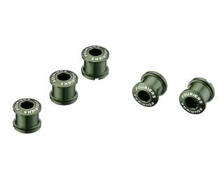 Fouriers Chainring bolts Green